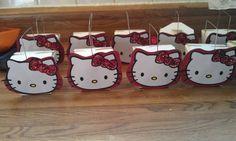 handmade Hello Kitty favor/treat boxes