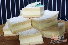Grandma& heavenly good cream cake that is incredibly easy to .- Omas himmlisch guter Sahne-Kuchen, der unglaublich einfach ist Grandma& heavenly good cream cake that& incredibly easy Sweet Desserts, No Bake Desserts, Sweet Recipes, Baking Recipes, Cake Recipes, Cake Cookies, Cupcakes, Czech Recipes, Sugar Cake