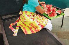 Summer Gear Tie-Dye Apron
