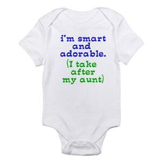 where was this when my niece and nephew were born? however, it holds true for my sister (aunt to be) too
