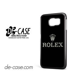 Rolex Logo DEAL-9298 Samsung Phonecase Cover For Samsung Galaxy S6 / S6 Edge / S6 Edge Plus