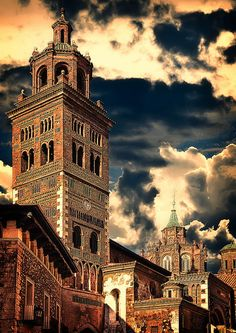 Cathedral of Teruel, Aragon, Spain by Jose Luis Mieza Photography via Flickr