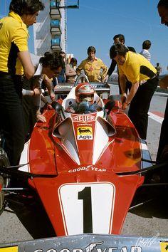 1976 Niki Lauda , Ferrari 312T2