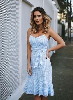 For over 20 years, the brand Luzia Fazzolli presents sophisticated collections and … – Casual Dress Outfits Cute Dresses, Casual Dresses, Short Dresses, Casual Outfits, Cute Outfits, Summer Dresses, Summer Outfit, Casual Chic, Dress Outfits