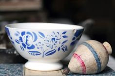 Vintage Bol bei willows95988 / Vintage French Bowl at willows95988