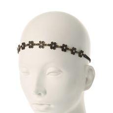 Metal Daisy Crystal Headwrap