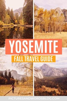 Fall in Yosemite | Everything You Need to Know About Visiting Yosemite National Park in the Fall | Fall Travel in California | Yosemite National Park Guide | Things to Do in Yosemite National Park | USA Fall Travel Destinations | California Fall Travel Destinations | Best Yosemite Hikes in the Fall | Best Hikes in Yosemite in the Fall | Fall Travel Inspiration | Best Places to Travel in Fall | Best Autumn Travel Destinations Usa Travel Guide, Budget Travel, Travel Usa, Travel Guides, Travel Tips, Travel Destinations, California National Parks, National Parks Usa, Yosemite National Park