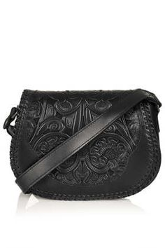 Whipstitch Saddle Bag - Cross Body Bags - Bags & Wallets  - Bags & Accessories