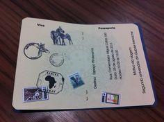 Convite Safari Passaporte