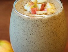 An apple pie smoothie that can't be beat! Delicious cinnamon, apples, and oats with vegan protein and almond milk for creaminess. Just like a hot apple pie!