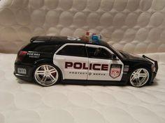 Police Car Jada Toys 2006 Dodge Magnum RT 1/24 Police Heat Cars Dub City Hemi