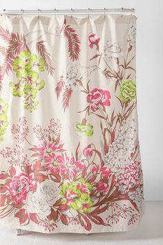 neon flower shower curtain @ URBN