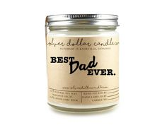 Best Dad Ever - 8oz Scented Candle