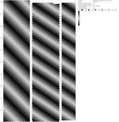 Диагональный градиент (22, 43, 64 и тд) http://crochetbeadpaint.info/raports/1533935