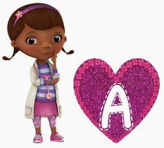 Alfabeto de la Doctora Juguetes.