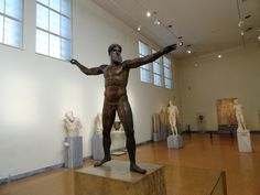 Posidon Statue, National Archaeological Museum of Athens http://www.house2book.com