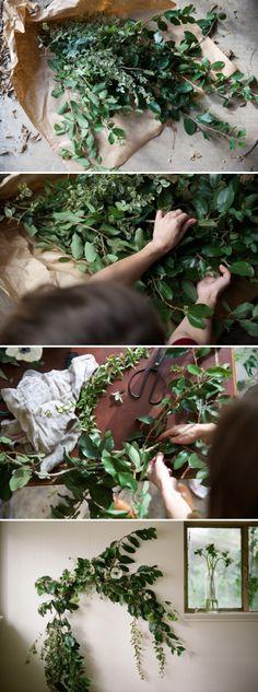 Urban Outfitters - Blog - UO DIY: Botanical Holiday Garland