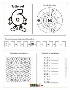 School Timetable, School Frame, Math Multiplication, Fun Math Games, Math Addition, Math Help, School Worksheets, 3rd Grade Math, Math Classroom