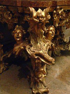 Roman Baroque Side Table 18th century 4