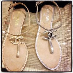 Chanel Sandals....sweet