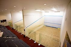 Squash courts at The Parklangley Club