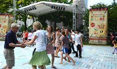 Top 10 Summer in Chicago Activities - Spirit of Dancing in the Park in Grant Park