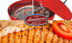 Grilled Sockeye Salmon and Veggies on Lock' n Go Charcoal Grill – Meco Americana Grills Tofu Recipes, Salmon Recipes, Crockpot Recipes, Vegetarian Recipes, Beans In Crockpot, Vegan Barbecue, Marinated Tofu