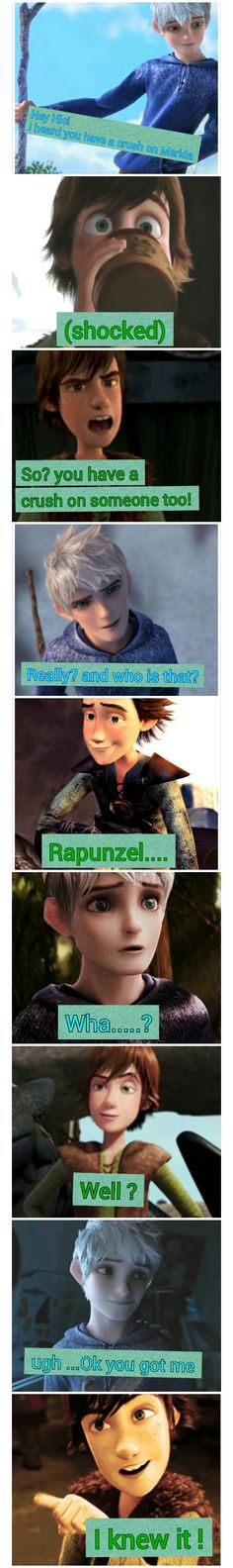 Boys Talk : Jack and Hiccup by insyirah321.deviantart.com on @deviantART