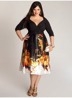 plus size dress I. LOVE. THIS.