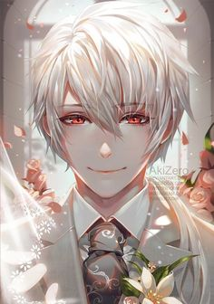 Mystic Messenger Zen Anime HD Canvas Wall Poster Scroll Home Decor Cosplay Mystic Messenger Zen, Mystic Messenger Fanart, Manga Anime, Manga Art, Hot Anime Boy, Anime Boys, Anime Boy Smile, Saeran, Estilo Anime