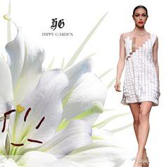 Hippy Garden Showroom Masarykova 5 www.hippygarden.net  Hippy Garden ultra moderna bijela haljina. Kolekcija Spring/Summer 2012.  #fashion #brand #design #hippygarden #croatia #masarykova5 #white #dress #summer