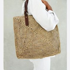 straw tote | beach tote | BAGS