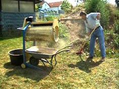 Compost Tumbler/ aka Trommel/Sifter/Sieve - YouTube