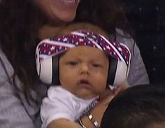 Boomer Phelps watching his father Michael Phelps...