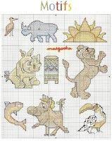 "Gallery.ru / KIM-3 - Альбом ""1"" Cross Stitch Bookmarks, Cross Stitch Animals, Stuffed Animal Patterns, Otters, Hedgehog, Bunny, Kids Rugs, Embroidery, Comics"