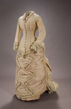 Dress, 1876-80  From the Museum of Arts and Traditions of Sevilla