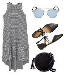 """""""Summer Outfit"""" by vasilica-cor on Polyvore featuring moda, MANGO, Gap, Urban Expressions e Christian Dior"""