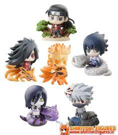 Naruto Shippuden Petit Chara Land Ninja Wars Trading Figure 6 cm Assortment ( Megahouse )