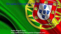 PEDRO MIGUEL CRUZ´S BLOG: Portugal Campeão Europeu de Futebol 2016 Portugal, Blog, Yellow, Green, Soccer, Colors, Books, Blogging
