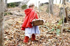 Disfraz casero de Caperucita Roja: ¡precioso y muy fácil de hacer! #caperucitaroja http://bit.ly/18H2L22