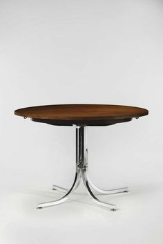 Rene-Jean Caillette . expandable dining table, 1960s