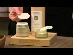 How To Exfoliate Sensitive Skin Naturally | Eminence Organic Skin Care - YouTube #HomemadeMoisturizer