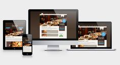 CASCADA Hotel - Responsive Webdesign Web Design, Waterfalls, Lucerne, Design Web, Website Designs, Site Design
