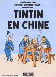 Les Aventures de Tintin - Album Imaginaire - Tintin en Chine