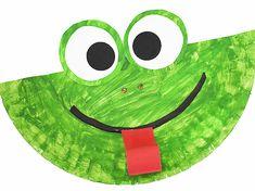 Frog Crafts Preschool, Pond Crafts, Craft Activities For Toddlers, Frog Activities, Infant Activities, Dinosaur Crafts, Ocean Crafts, Spanish Activities, Toilet Paper Crafts