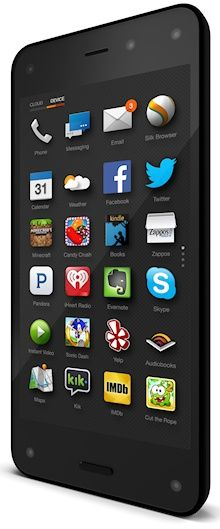 Amazon Fire - Amazon's first smartphone