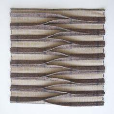 Fabric Manipulation Tutorial, Fabric Manipulation Techniques, Textiles Techniques, Sewing Techniques, Weaving Textiles, Weaving Patterns, Tapestry Weaving, Loom Weaving, Hand Weaving