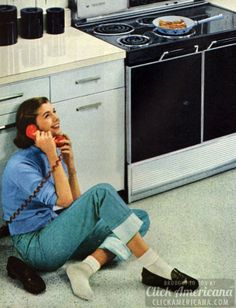 I want to be a fifties housewife...and I would probably do this from time to time.