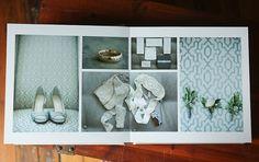 Wedding album layout design (Jen+Ashley)