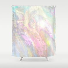 Buy Pastel Iridescent Shower Curtain by berber. Worldwide shipping available at Society6.com. Just one of millions of high quality products available.